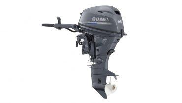 Moteur neuf Yamaha F25 GWHS VUE DU MOTEUR