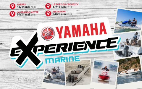 Yamaha Experience Marine 2017 17 et 18 juin flyer
