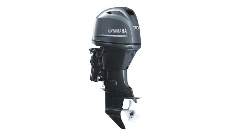 Vente de moteur neuf Yamaha F70 AETL-EFI vue du moteur